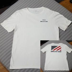 Oakley USA American Flag T-shirt, XL